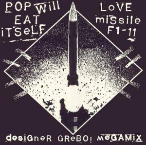 Cover - Pop Will Eat Itself: Love Missile F1-11