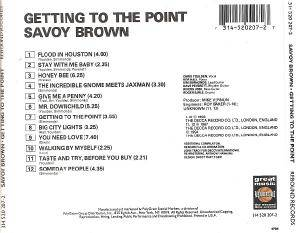 Savoy Brown: Getting To The Point (CD) - Bild 3