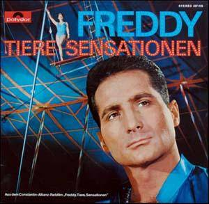 Cover - Freddy: Freddy, Tiere, Sensationen