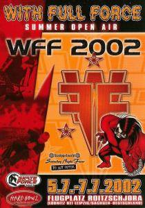 With Full Force 2002 - Cover