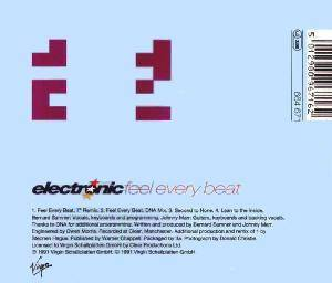 Cover - Electronic: Feel Every Beat