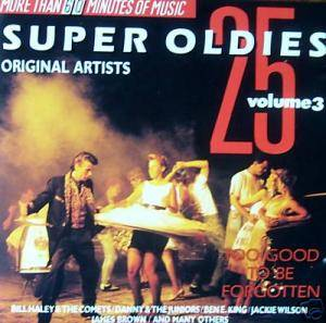 Cover - Lee Andrews & The Hearts: 25 Super Oldies - Volume 3