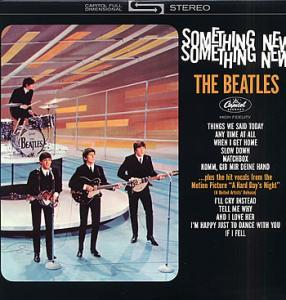 Beatles, The: Something New - Cover