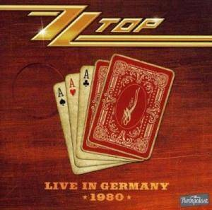 ZZ Top: Live In Germany 1980 - Cover