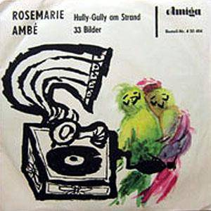 Cover - Rosemarie Ambé: Hully-Gully Am Strand