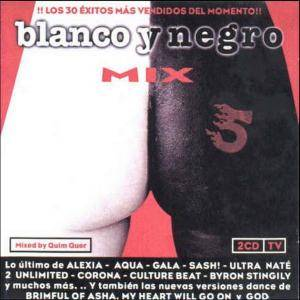 Cover - Groove Gangsters: Blanco Y Negro Mix 5