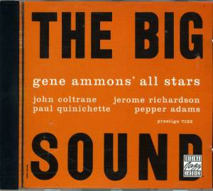 Cover - Gene Ammons: Big Sound, The