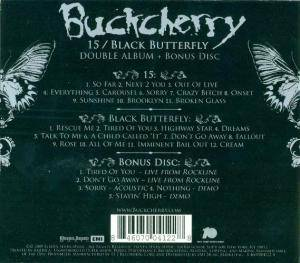 Buckcherry: 15 / Black Butterfly (3-CD) - Bild 2