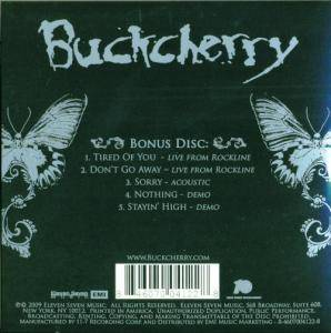 Buckcherry: 15 / Black Butterfly (3-CD) - Bild 10