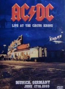AC/DC: Live At The Circus Krone - Cover
