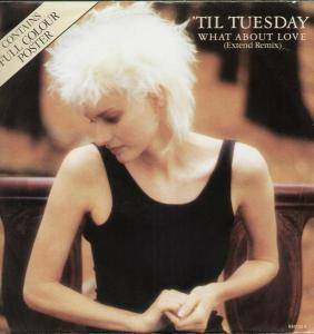 Cover - 'Til Tuesday: What About Love