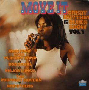 Cover - Tommie Young: Move It - Great Rhythm & Blues Show Vol. 1