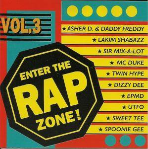Cover - Twin Hype: Enter The Rap Zone! Vol. 3