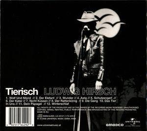 Ludwig Hirsch: Tierisch (CD) - Bild 2
