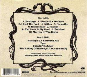 Opeth: Heritage (CD + DVD) - Bild 2