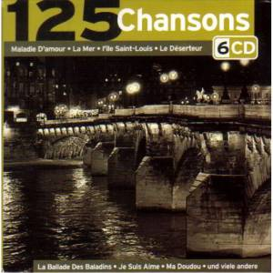Cover - Lucienne Boyer: 125 Chansons