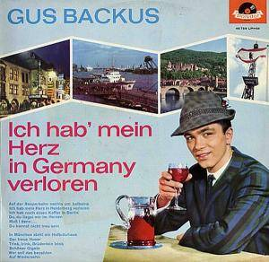 Cover - Gus Backus: Ich Hab' Mein Herz In Germany Verloren