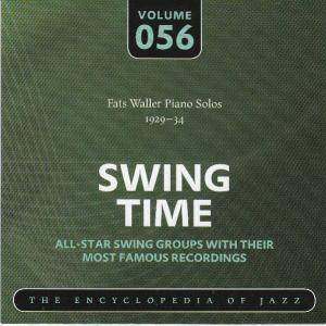 Cover - Fats Waller: Fats Waller Piano Solos 1929-34 Swing Time Volume 056 The Encyclopedia Of Jazz