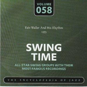 Cover - Fats Waller & His Rhythm: Fats Waller And His Rhythm 1935 Swing Time Volume 058 The Encyclopedia Of Jazz