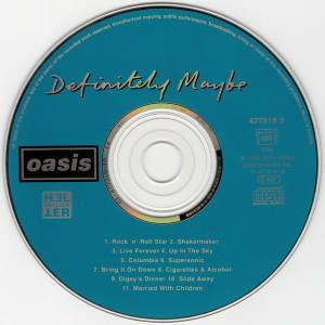 Oasis: Definitely Maybe (CD + Single-CD) - Bild 3