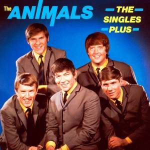 The Animals: Singles Plus, The - Cover