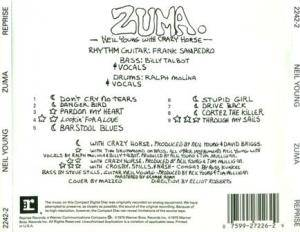 Neil Young & Crazy Horse: Zuma (CD) - Bild 4