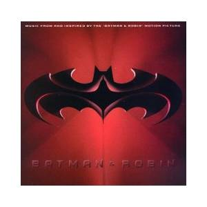 "Music From And Inspired By The ""Batman & Robin"" Motion Picture - Cover"