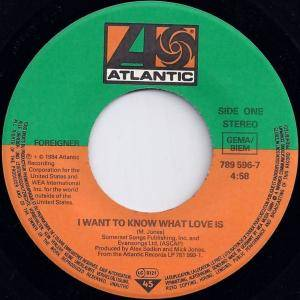 "Foreigner: I Want To Know What Love Is (7"") - Bild 3"