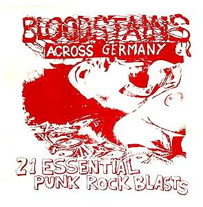 Bloodstains Across Germany - Cover