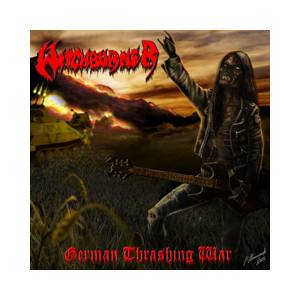 Witchburner: German Thrashing War - Cover