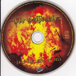 God Dethroned: Into The Lungs Of Hell (CD) - Bild 5