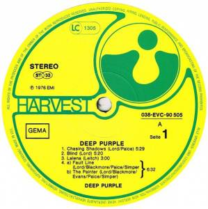 Deep Purple: Deep Purple (LP) - Bild 3