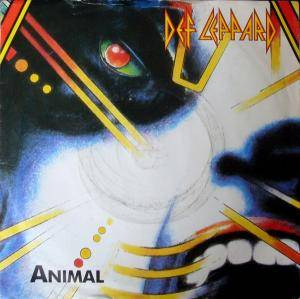 Def Leppard: Animal - Cover