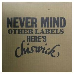 Cover - Whirlwind: Never Mind Other Labels - Here's Chiswick