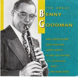 Benny Goodman: Great Benny Goodman, The - Cover
