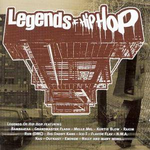 Legends Of Hip Hop - Cover