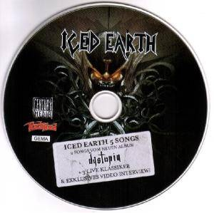 Iced Earth: 5 Songs (CD) - Bild 4