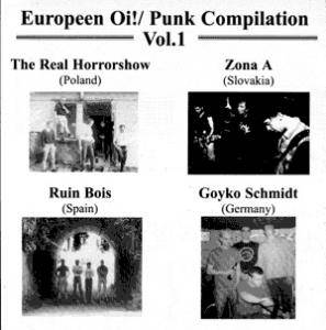 Cover - Goyko Schmidt: Europeen Oi!/ Punk Compilation Vol. 1