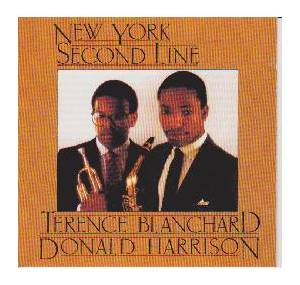 Cover - Terence Blanchard: Terence Blanchard / Donald Harrison - New York Second Line