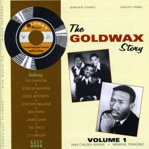 Cover - Spencer Wiggins: Goldwax Story Volume 1, The