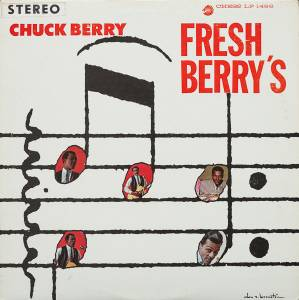 Cover - Chuck Berry: Fresh Berry's