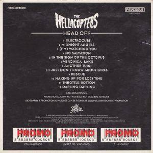 The Hellacopters: Head Off (Promo-CD) - Bild 2