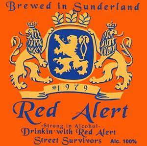 Cover - Red Alert: Drinkin' With Red Alert