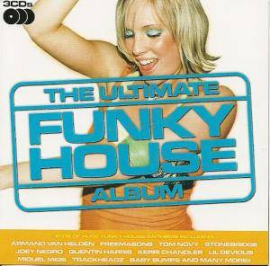 Ultimate Funky House Album, The - Cover