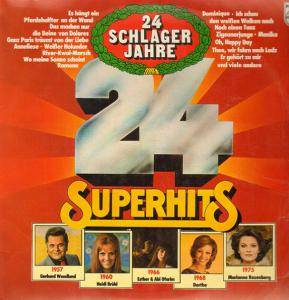 Cover - Peter Beil: 24 Schlagerjahre - 24 Superhits