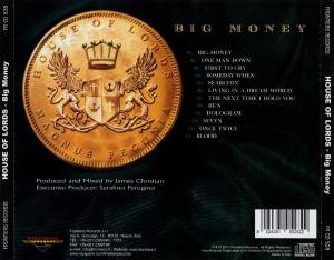 House Of Lords: Big Money (CD) - Bild 3