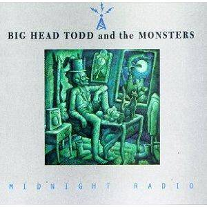 Cover - Big Head Todd & The Monsters: Midnight Radio
