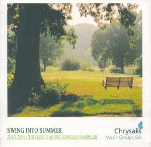 Cover - Hafdís Huld: Swing Into Summer: July 2006 Chrysalis Music Singles Sampler