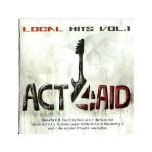 Cover - $omeone €lse: Act4aid - Local Hits Vol.1