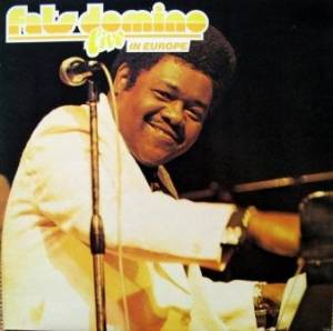 Fats Domino: Live In Europe - Cover
